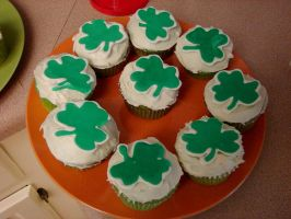St. Patty Cupcakes by Zappe