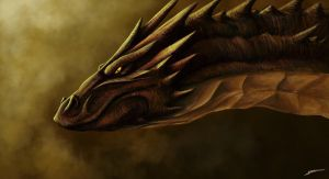Smaug by 44Shadow44