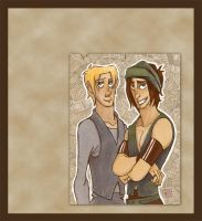 Kane and Westley - 16 years old by Dedasaur