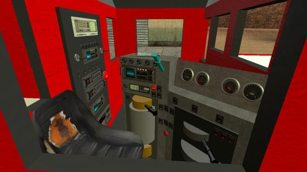 Gmod SD40-2 Cab by TheSniperKid
