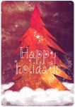 Card for the Holiday Card Project 2014 by mercurycode