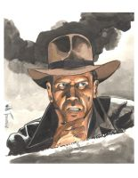 Indiana Jones by willterrell