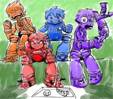 TMNT 2012 Human Version by SouL00020