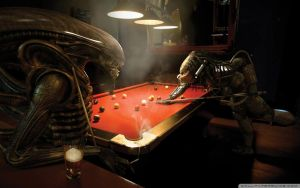 Alien Vs Predator Pool by colemyxbox360
