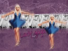 Lady Gaga Wallpaper by viiveunaa1viida