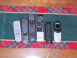 2015 Home Theater Remotes by BigMac1212