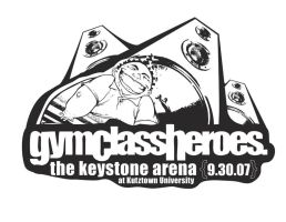 Gym Class Heroes: Tee Graphic by Seany-Mac