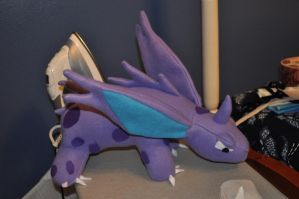 Nidorino plushie by Mad-March