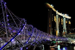 Double-helix bridge by poondq