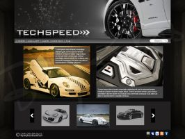 Techspeed Sample Webpage by boykulas