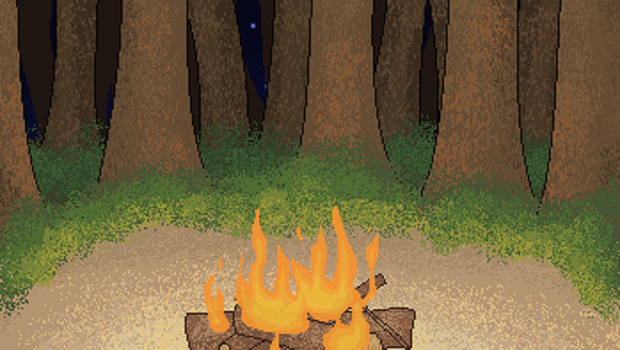 Camp fire by cupman11