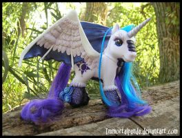 A Kirin named Dusk by ImmortalPanda