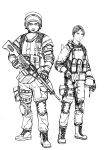 BF4 RU Support class (line art) by i-am-thomas