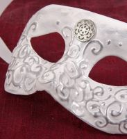 Masquerade Mask-D'argento by EffigyMasks