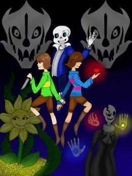 GlitchTale by Girlydeadlox