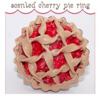 Scented Cherry Pie Ring by kc-sweet-treats