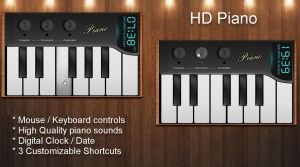 HD Piano for xwidget by jimking