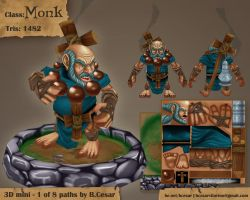 Contest- Monk by b-cesar