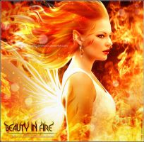 Beauty in fire by areemus