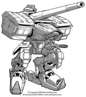 Freelance Mecha Design 04 by Mecha-Zone