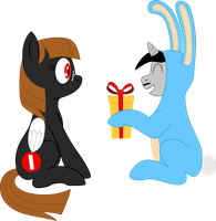 Happy B-day Aldi and Happy Easter! X3 by Neros1990