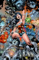 Jim Lee  Wonder Woman Color by roncolors