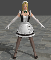 Dead or Alive 5 Ultimate - Maid - Helena by Irokichigai01
