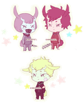 Oni-buns adopts [OPEN 3/3] by Lewdless