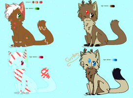 Christmas Adoptables-Batch 1-Re-Uploaded by xXPastelWishesXx