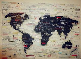 World Map by NicoleWilliam