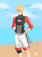 Bodie Lifeguard by Karushy