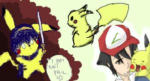 iScribble PIKACHOO by EternalWar