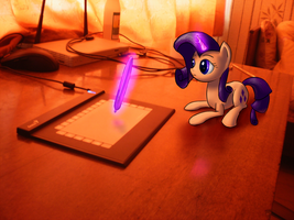 Rarity in real life by icefairy64