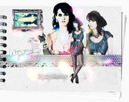 Katy Perry Layout by pinkpostitt