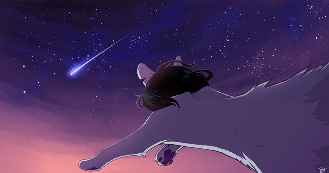 I'm in Love With a Shooting Star by lulucampo