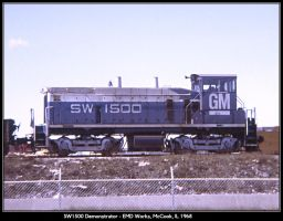 SW1500 demonstrator by classictrains