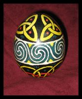 Celtic Egg by JillJohansen