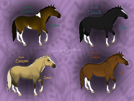 Moar Upcoming Horse-Charries by Juriia