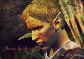 Tamlen--Dragon Age: Origins by gothicskittles93