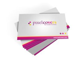 PixelCovers Business Card by reezluv