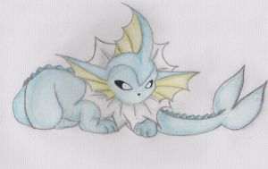 Vaporeon by LilLoate