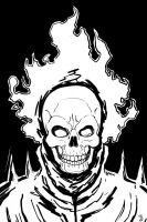 Con practice - Ghost Rider by thelearningcurv