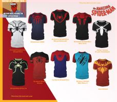 Spider-Man Shirts! by prathik