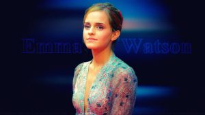 Emma Watson Pretty as a Princess V2 by Dave-Daring