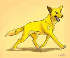 Cheesey Dingo by shelzie