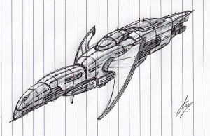 """Doomlord"" Battleship WIP by Inquisitor-No-7"