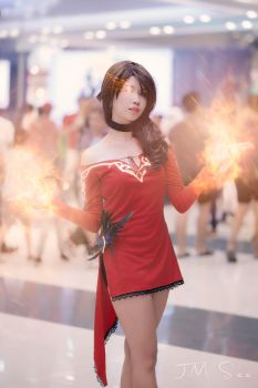 Cinder Fall Cosplay by jmsee