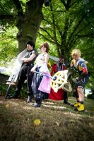 Connichi 2012  Final Fantasy X Group with Zack by Gildartz88