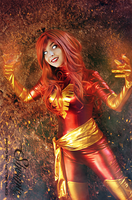 I am fire! by Shermie-Cosplay