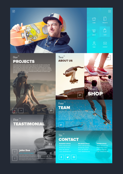 SixSteps Homepage Design by vBabic